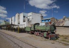 Tren andino del vapor de la clase Fotografía de archivo