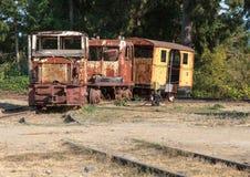 Tren antiguo Fotografía de archivo libre de regalías