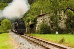 Tren antiguo Foto de archivo libre de regalías