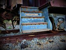 Tren antiguo Fotos de archivo