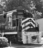 Tren blanco y negro Fotografía de archivo