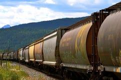 Tren canadiense Fotografía de archivo libre de regalías