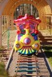 Tren colorido del carrusel Fotos de archivo