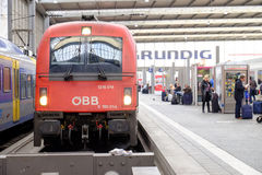 Tren de Ã-BB Fotografía de archivo