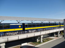 Tren de Alaska Fotos de archivo