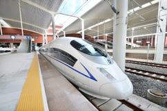 Tren de alta velocidad Foto de archivo libre de regalías