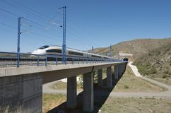 Tren de alta velocidad Imagen de archivo