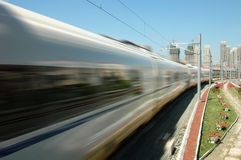 Tren de alta velocidad de China foto de archivo