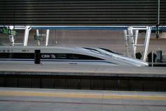 Tren de alta velocidad de China Fotos de archivo libres de regalías