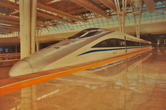 Tren de alta velocidad de China Imagenes de archivo