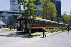 Tren de América Imagem de Stock