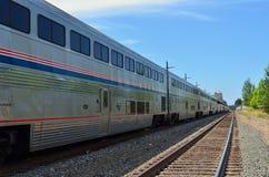 Tren de Amtrak Foto de archivo