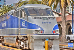 Tren de Amtrak Imagen de archivo libre de regalías