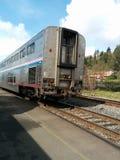 Tren de Amtrak Imágenes de archivo libres de regalías