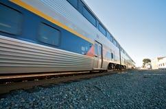 Tren de Amtrak en Berkeley Imágenes de archivo libres de regalías