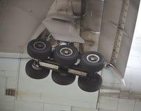 Tren de aterrizaje principal Imagen de archivo