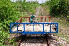 Tren de bambú Fotografía de archivo libre de regalías