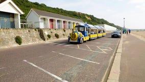 Tren de Bournemouth almacen de metraje de vídeo