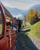Tren de Brienz-Rothorn, Suiza III Imágenes de archivo libres de regalías