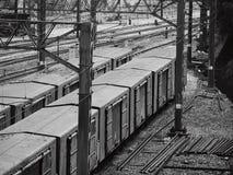 Tren de carga Imagen de archivo