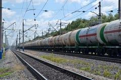 Tren de carga Fotografía de archivo