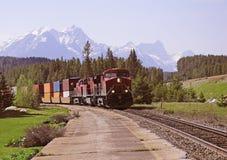 Tren de carga. Imágenes de archivo libres de regalías