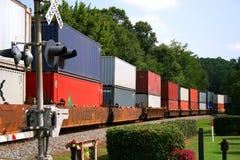 Tren de carga Imagenes de archivo