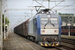 Tren de carga chino Fotos de archivo libres de regalías