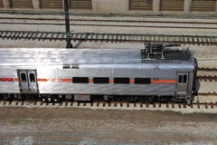 Tren de Chicago Fotos de archivo libres de regalías