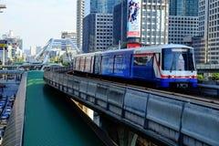 Tren de cielo del BTS Foto de archivo libre de regalías