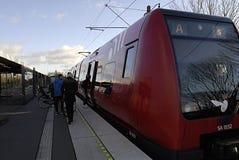 Tren de DENMARK_dsb s Foto de archivo libre de regalías