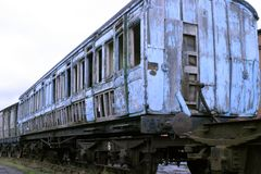 Tren de fantasma Imagenes de archivo