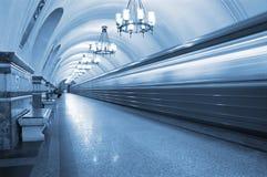 Tren de fantasma Imagen de archivo libre de regalías