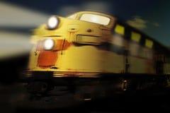 Tren de fantasma Imágenes de archivo libres de regalías