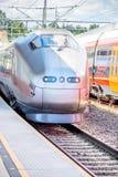 Tren de Flytoget Foto de archivo