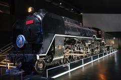 Tren de fractura de registro del vapor de la clase C62 Fotos de archivo