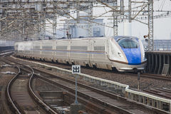 Tren de Japón Imágenes de archivo libres de regalías