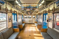 Tren de Jap?n imágenes de archivo libres de regalías