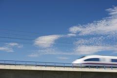 Tren de la avenida Imagenes de archivo