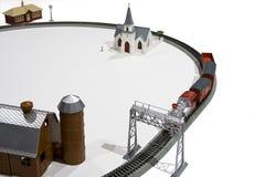 Tren de la casa del juguete Fotografía de archivo