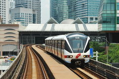 Tren de la ciudad Fotos de archivo