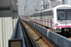 Tren de la ciudad de Shangai Imagen de archivo libre de regalías