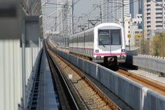 Tren de la ciudad de Shangai Fotos de archivo libres de regalías