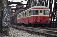 tren de la escuela vieja Fotografía de archivo