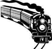 Tren de la locomotora de vapor Fotos de archivo libres de regalías