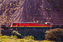Tren de la mina Imágenes de archivo libres de regalías