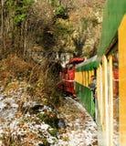Tren de la montaña imagenes de archivo