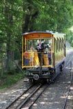 Tren de la montaña de Neroberg en Wiesbaden, Alemania Foto de archivo