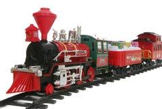 Tren de la Navidad imagen de archivo libre de regalías