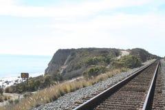 Tren de la playa Fotos de archivo libres de regalías
